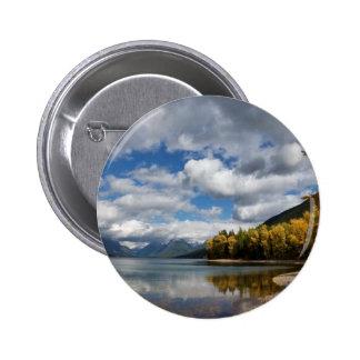 Lake McDonald MT Pinback Button