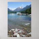 Lake McDonald Summer - Glacier Park Montana Poster
