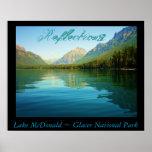 Lake McDonald's Reflections Print