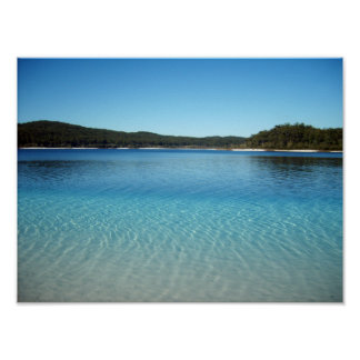 Lake McKenzie Poster