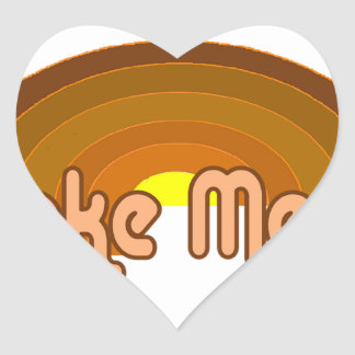 Lake Mead Heart Sticker