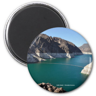 Lake Mead near Hoover Dam 2 Inch Round Magnet