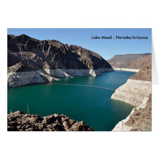 Lake Mead near Hoover Dam Card
