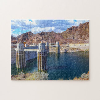Lake Meade Hoover Dam. Jigsaw Puzzle