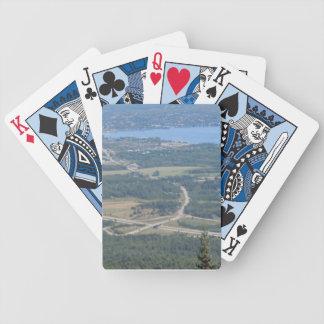Lake Memphremagog, Quebec - Playing Cards