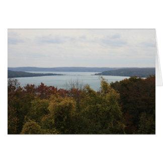 Lake Michigan Bay (Blank Notecard) Card