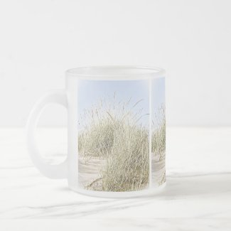 Lake Michigan Beach Grass Photo mug