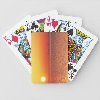 Lake Michigan Bicycle Playing Cards