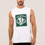 Lake Michigan Circle Tour, Sign, Wisconsin, USA Sleeveless T-shirt