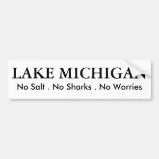 Lake Michigan - humor Bumper Sticker