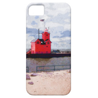 Lake Michigan Lighthouse iPhone 5 Cover