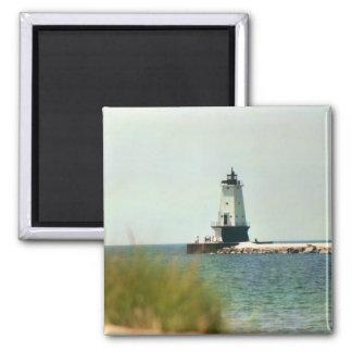 Lake Michigan lighthouse Magnet