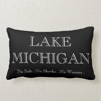Lake  Michigan Lumbar Pillow