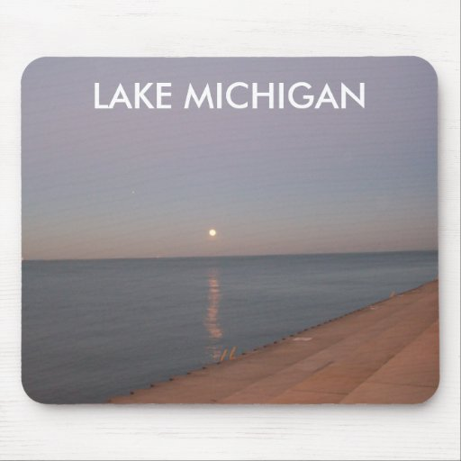 LAKE MICHIGAN MOUSE PAD