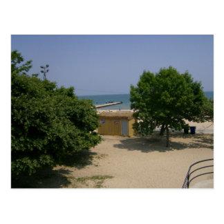 Lake Michigan shores Postcard