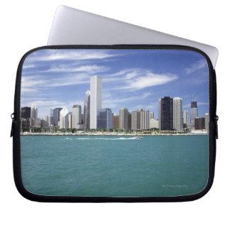 Lake Michigan, Skyline, Travel Destinations, Computer Sleeve