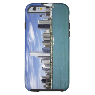 Lake Michigan, Skyline, Travel Destinations, Tough iPhone 6 Case