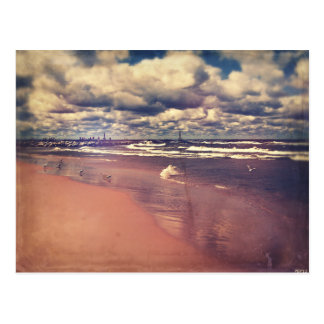 Lake Michigan Summer Postcard