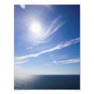 Lake Michigan Sunny Day Photo Print