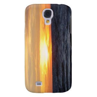 Lake Michigan Sunset Galaxy S4 Covers