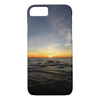 Lake Michigan Sunset Phone Case