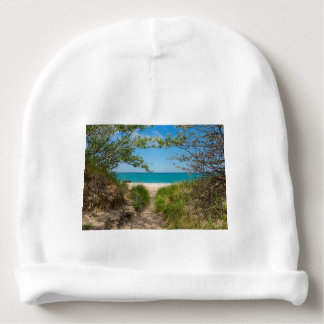 Lake Michigan Tranquility Baby Beanie