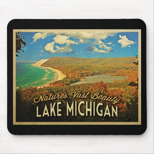 Lake Michigan Vintage Mousepad