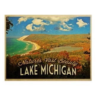 Lake Michigan Vintage Post Card
