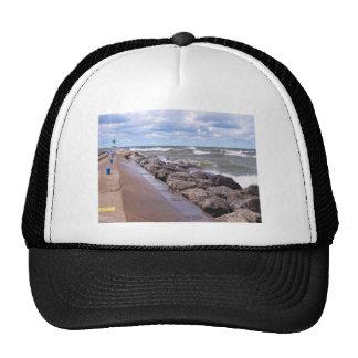 Lake Michigan Waves Mesh Hat