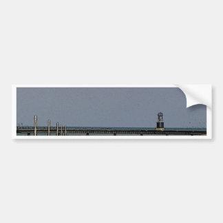 Lake Michigan's Beacon Light Bumper Sticker