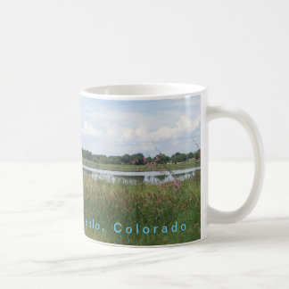 Lake Minnequa On A Coffee Mug - Pueblo Colorado