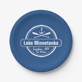 Lake Minnetonka Minnesota anchor town and name Paper Plate
