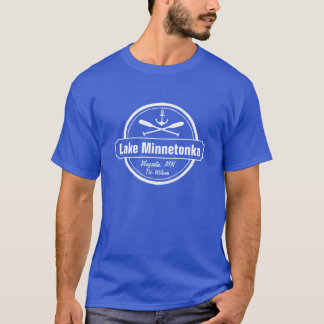 Lake Minnetonka Minnesota anchor town and name T-Shirt