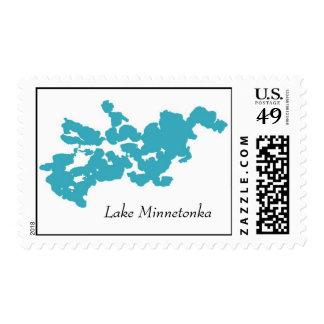 Lake Minnetonka Postage Stamp