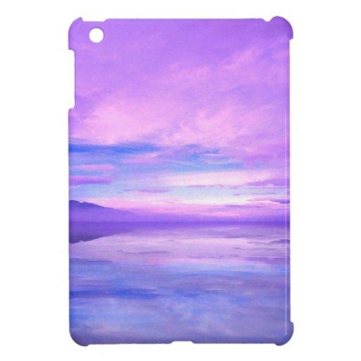 Lake Mirrored Serenity Hood Canal Seabeck iPad Mini Case