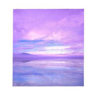 Lake Mirrored Serenity Hood Canal Seabeck Memo Pad