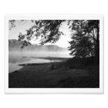 Lake Mist Photo Art