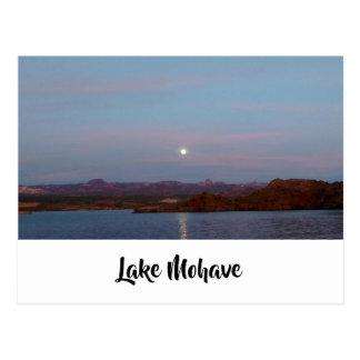 Lake Mohave Moon Postcard