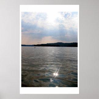 lake mohawk water poster