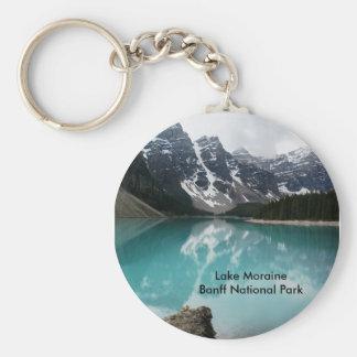 Lake Moraine Keychain
