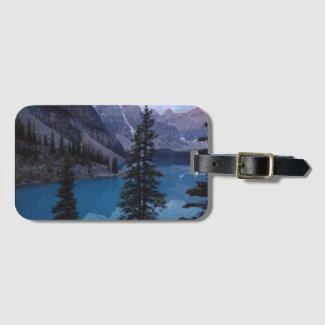 Lake Moraine Luggage Tag