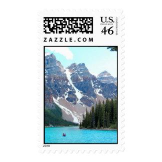 Lake Moraine Stamps