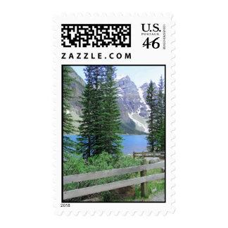 Lake Moraine Stamp