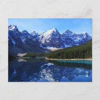 Lake Moraine Postcard postcard