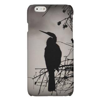 Lake Morton Silhouette Glossy iPhone 6 Case