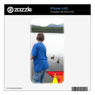 LAKE & MOUNTAIN VIEW SKINS FOR THE iPhone 4