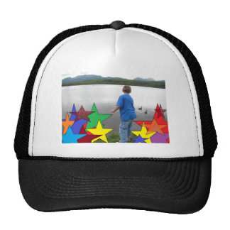 LAKE & MOUNTAIN VIEW TRUCKER HAT