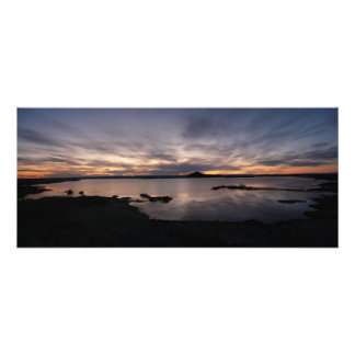 Lake Myvatn sunset photo print