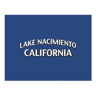 Lake Nacimiento California Postcard