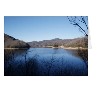 Lake Natahala Card